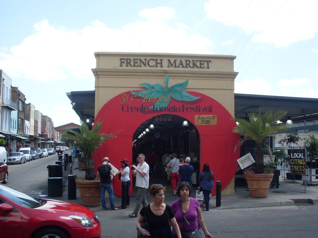 The French Market entrance
