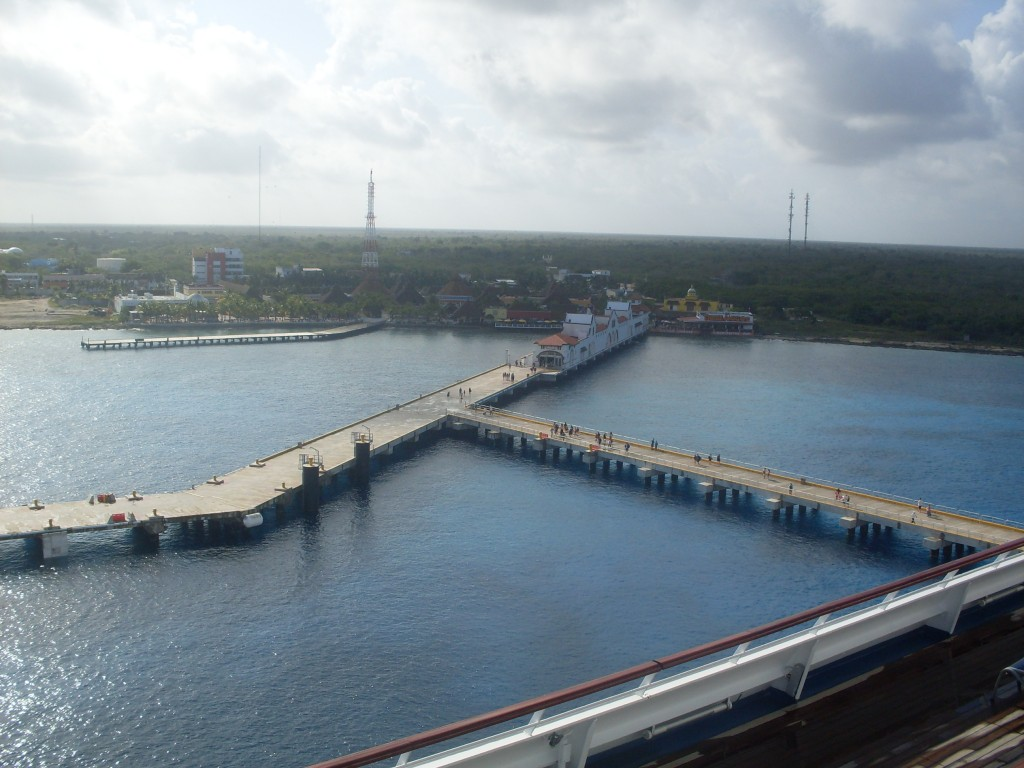 Arriving in beautiful Cozumel