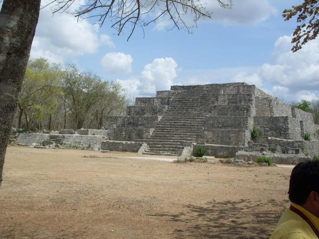 One of the ruins